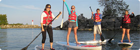 Paddleboard Team Building