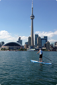Stand Up Paddleboarding Toronto